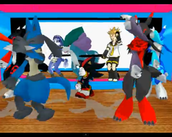 Im Blue MEGA DANCE PARTY! :video in desc: by NyinxDeLune