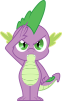 Spike Salute by Groxy-Cyber-Soul