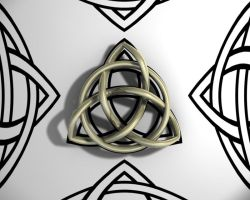 Triquetra Wallpaper by TheBigDaveC
