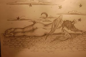 Untroubled sleep of the angels by Farri