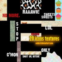 icons textures 03. by sodust