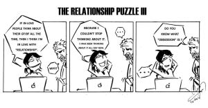 """The233""-Relationship Puzzle3 by NK-C"