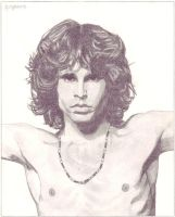 "Jim Morrison ""The Lizard king"" by alessandr"