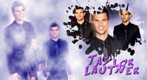 wallpaper de Taylor Lautner by krissslovee