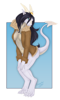Commission: In the Wind by Samantha-dragon
