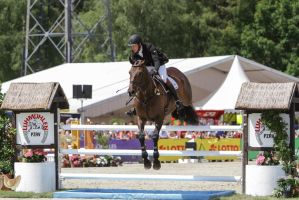 3DE Show Jumping Phase Stock 84 by LuDa-Stock