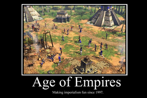Age of Empires Demotivator by Party9999999