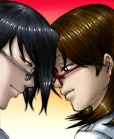 .Together.:Collab with Dokuro: by Deus-Nocte