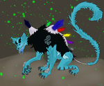 My entry for Dawnshard into a Monster Contest by CraftyMaelyss