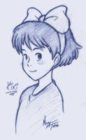 Kiki sketch by MichaelMayne
