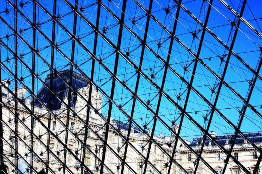 outview of Museum Louvre by eloyimpressions