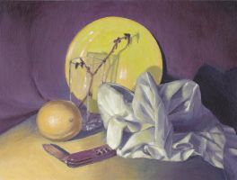 Classwork - Still Life Painting by Klecktacular
