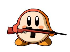 Waddle Dee with M14 by Jim-marine