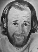 George Carlin by tybo231