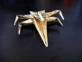 Origami X-wing by origami-guy