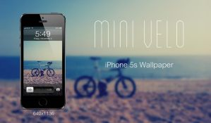 Mini velo  - iPhone 5s (640x1136) Wallpaper by f79h