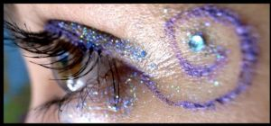 glitter eye by droool