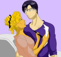 Lona and Ryosuke by HieiSQueen