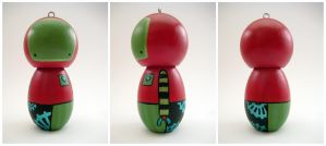 Robot Ornament - NEW by renton1313