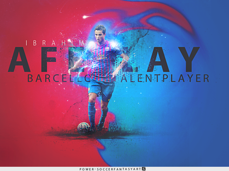 Ibrahim Afellay Barcellona Player by PowerGFX96