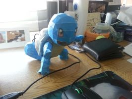 Squirtle papercraft by scarletfir3