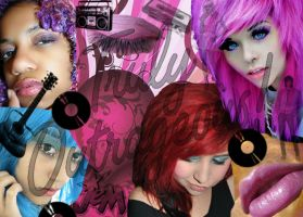 We are Jem and the Holograms by Dreamerzina