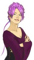 Tonks as I ever Imaginate her by LilywhiteBlack