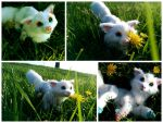Handmade Poseable Candy fox SOLD by KaypeaCreations