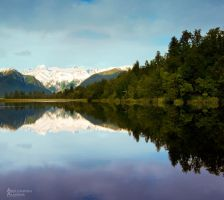 Lake Matheson by AL-AMMAR