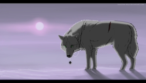 Japanese gray wolf by DakotaW-Wolf