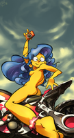 knack :Marge Simpson: by edtropolis
