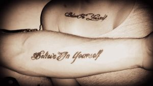 believe in yourself by kolesina