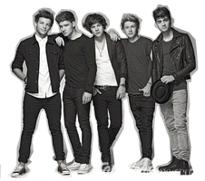One Direction png BY ~TamaraFrancisca by TamaraFrancisca