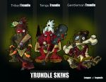 Trundle skins by mister-crab