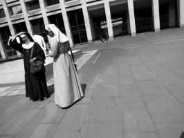 Nuns in London by tracy-Me