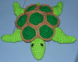 Sea turtle by crochetamommy