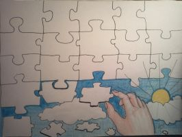 life is a puzzle by tonez2