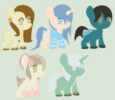 Shiver and Mei Foals- Two Open! by PyscoSnowflake