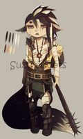 Kemonomimi Male Adoptable [SOLD] by Suzu-Adopts