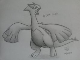 #249 Lugia by Bluekiss131