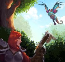 Heroes of the Storm Fan Art contest by Cristina001