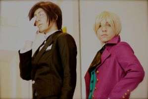 You are my Butler ~ Claude and Alois by OurLivingLegacy