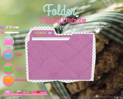 Folders Tokidoki Diamonds by JhoannaResources