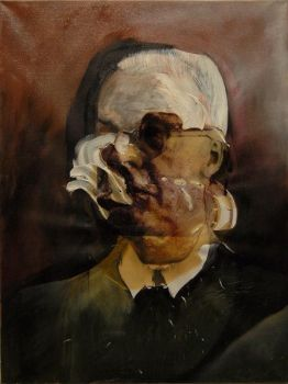 Portrait of Eric Ambler by mickey03