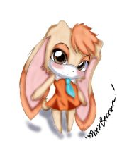 Brown Eyed Rabbit by OoVanilla-TwilightoO