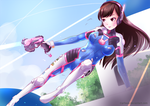 D.va - Nerf This! by Pillaws