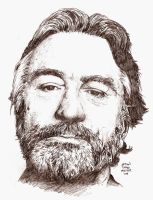 ROBERT DE NIRO in an hour by MalevolentNate