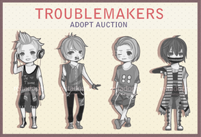 [CLOSED] TroubleMakers Batch #2 by reitadopts