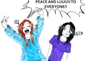 KxK - Peace and luuuv by MangaX3me