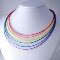 Computer Cable Necklace by Techcycle
